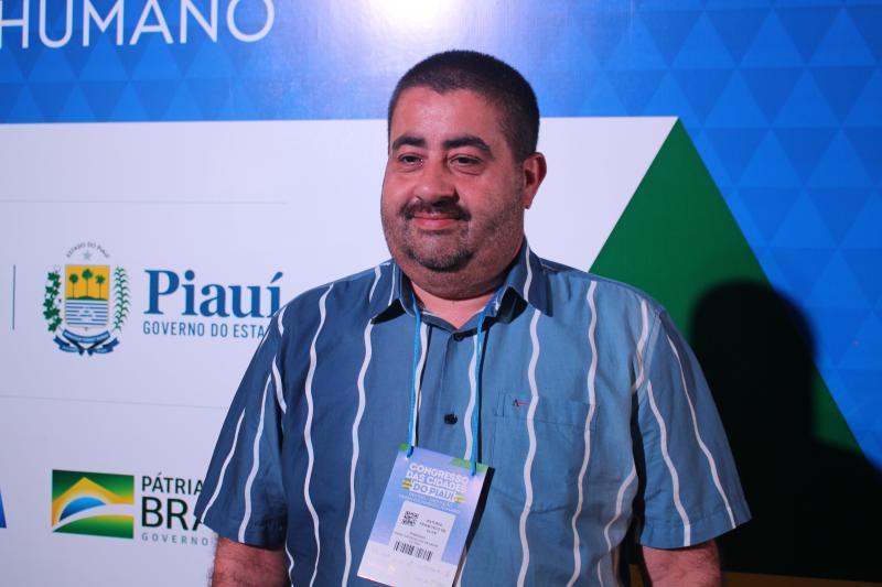 Prefeito de Lagoa do Piauí participa do Congresso das Cidades