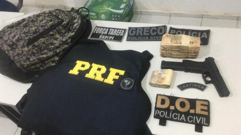 Mais um assaltante de banco é morto pela polícia no Piauí