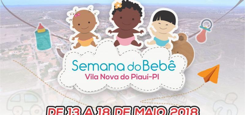 Prefeitura de Vila Nova realizará 10ª Semana do Bebê
