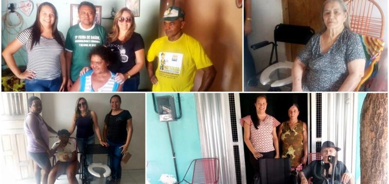 Saúde de Alagoinha do Piauí faz entrega de equipamentos de locomoção