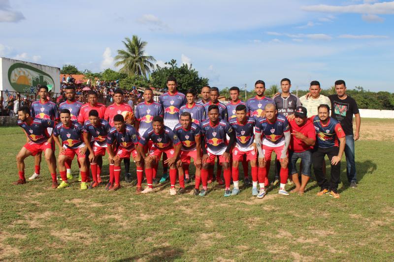 RedBull é tricampeão consecutivo de futebol em Francisco Ayres