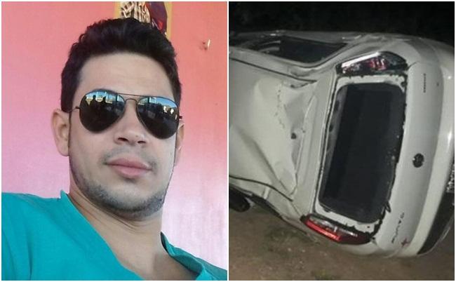 Homem morre após capotar carro na PI-455