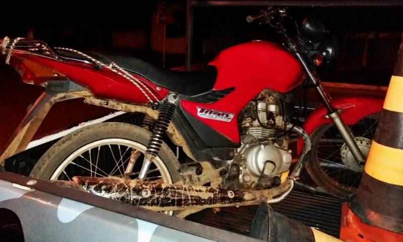 Força Tática e GPM recupera duas motos roubadas em Amarante