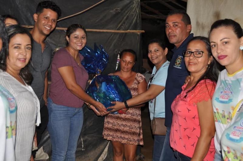 CRAS de corrente realiza visita a famílias da localidade Morro Redondo