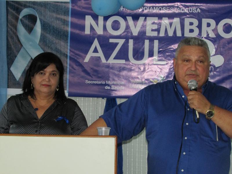 Secretaria de saúde de Lagoinha do piauí realiza palestra em alusão ao novembro azul