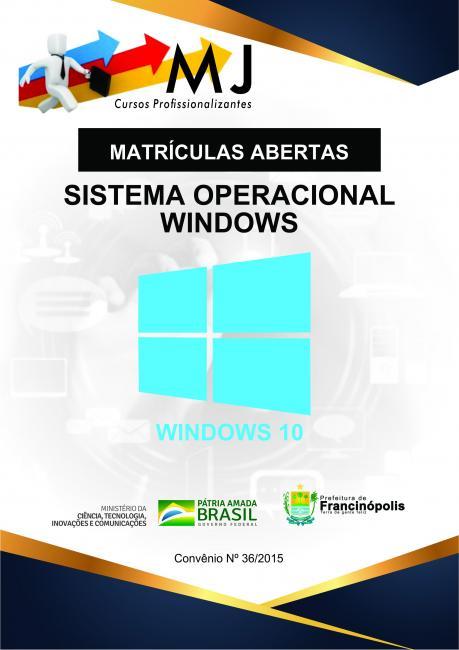 Prefeitura de Francinópolis oferece cursos de Windows