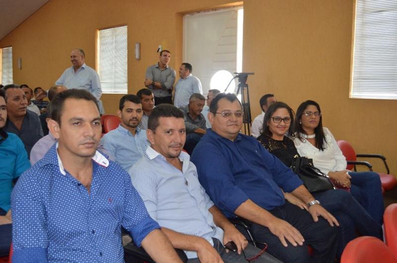 Solenidade de filiação de grandes lideranças politicas do estado ao Partido Progressista ( PP)