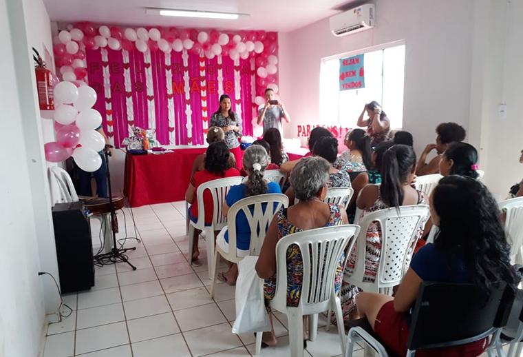 Timon | Cras Cidade Nova realiza homenagem para as mães da comunidade
