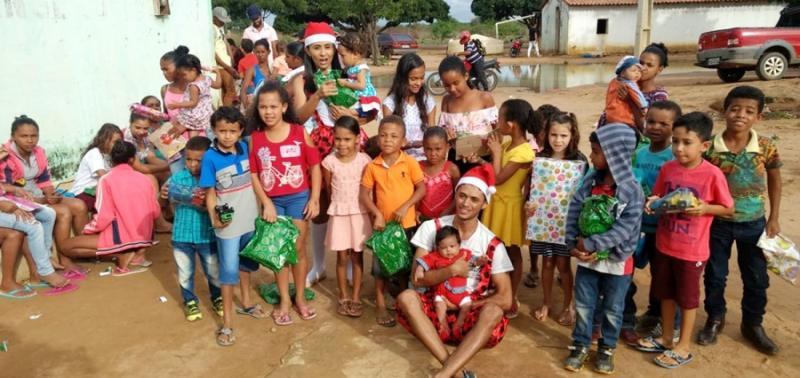 Projeto social realiza ações em prol de famílias carentes