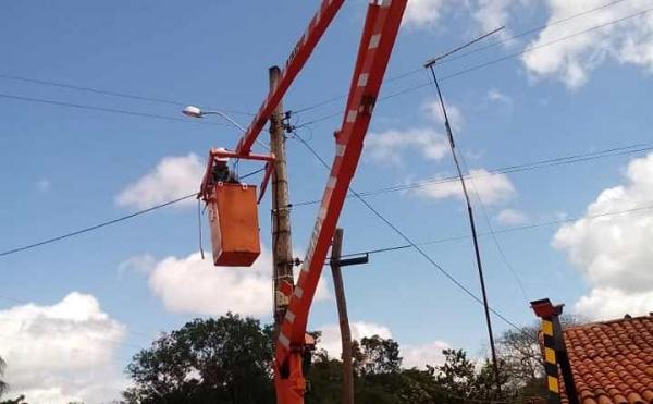 Comunidade rural de Campo Maior ganha Iluminação Pública