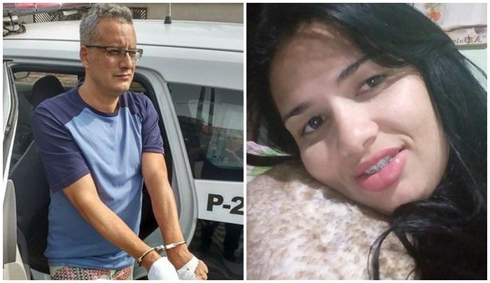 Homem mata a ex por ciúmes com 36 facadas na frente das filhas