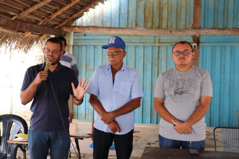 Prefeito participa de lançamento de Projeto em Assentamento