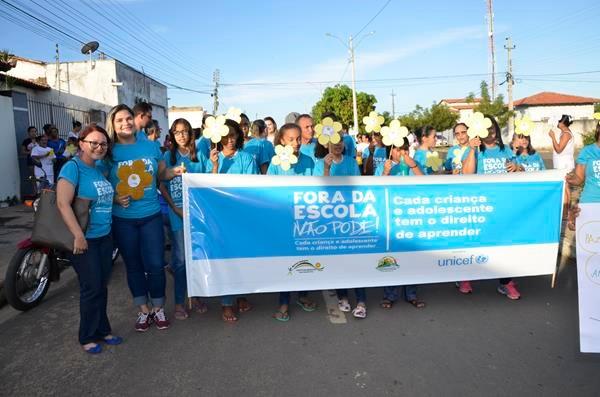 Busca Ativa Escolar e caminhada do 18 de maio foram realizadas na cidade