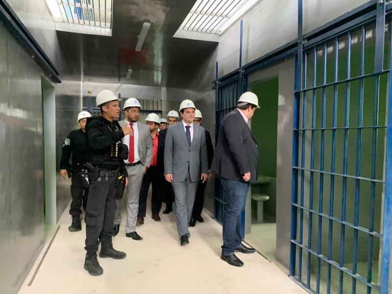 OAB Piauí visita obras da nova Cadeia Pública de Altos