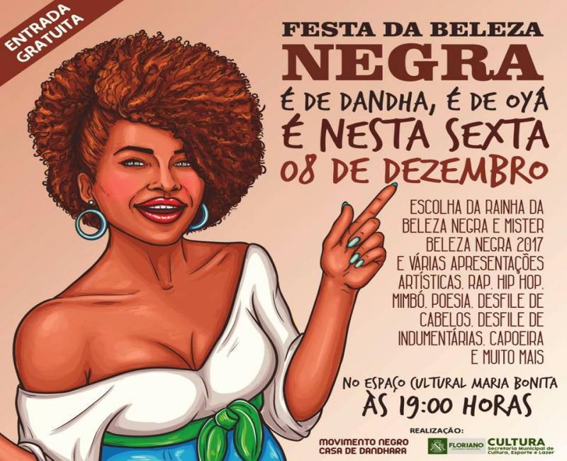 Festa da Beleza Negra 2017 acontece nessa sexta-feira (08)