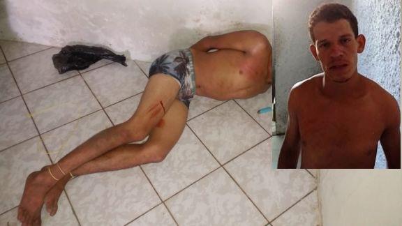 Suspeito de furtos é amarrado por populares em Luís Correia