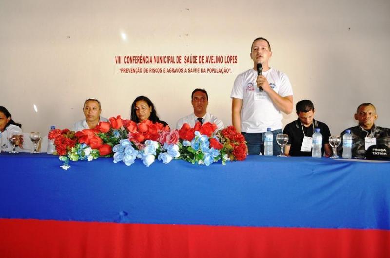 Secretaria de Saúde de Avelino Lopes realiza a VIII Conferência