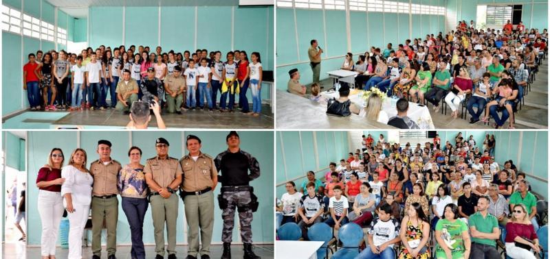 Projeto Pelotão Mirim contempla alunos da Escola José Aquiles de Sousa