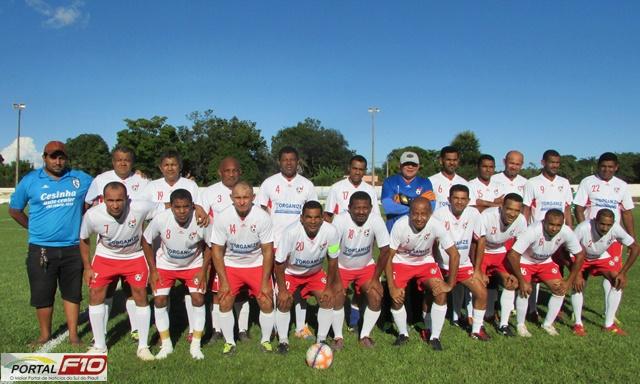 Grande final do campeonato de veteranos Gilbués Máster x Beira Rio