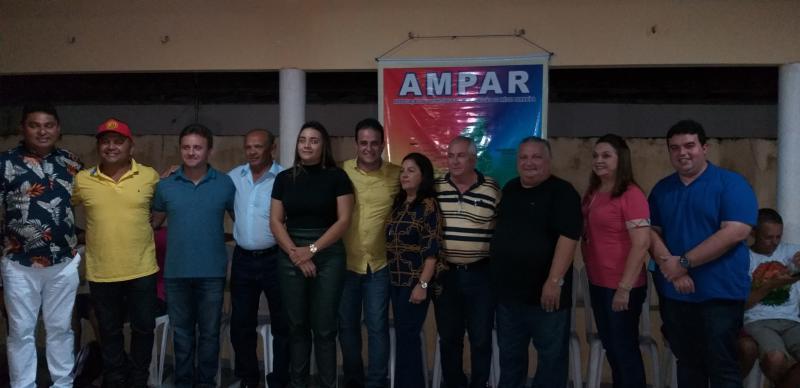 Prefeito Dr. Alcione participa da abertura da copa AMPAR