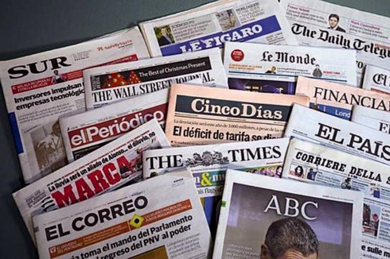 Jornais de Sábado, 18 de maio