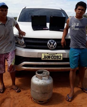Polícia prende acusados de furtar posto de saúde em Currais-PI