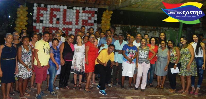A Sec. de Assistência Social de Cristino Castro realizou o Encerramento das Atividades dos Idosos