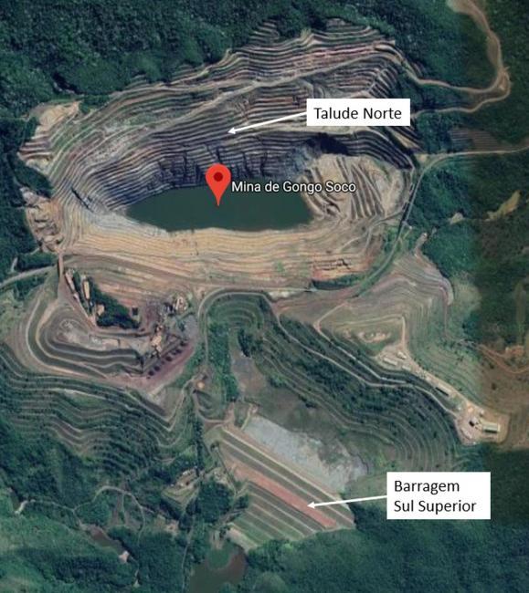 Talude de mina da Vale pode se romper a partir de hoje