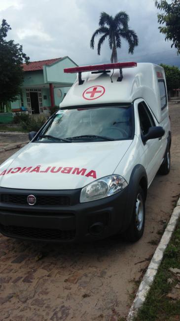 Prefeitura de São João do Arraial adquire nova ambulância para o município