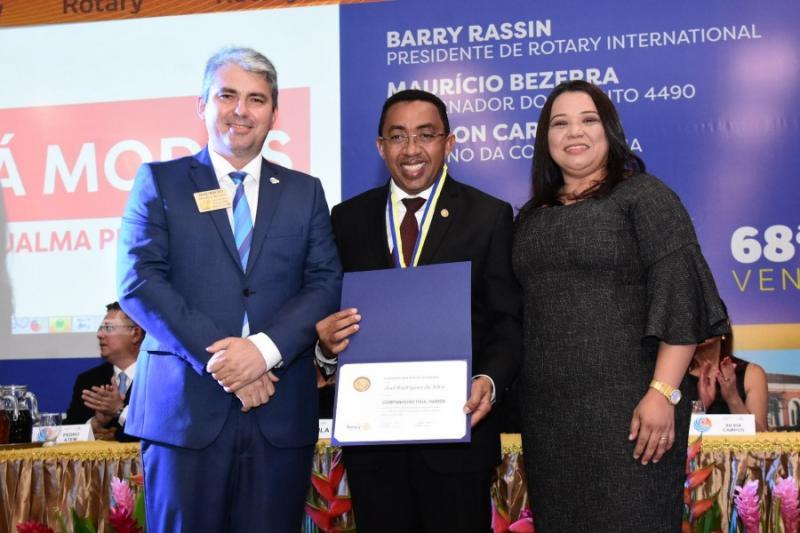 Prefeito Joel Rodrigues participa da 68ª Conferência Distrital do Rotary
