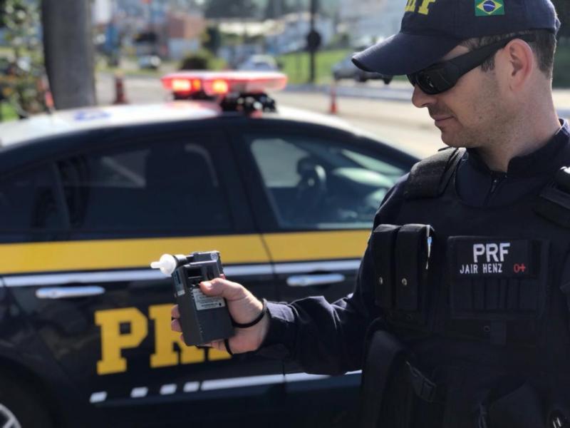PRF prende cinco condutores alcoolizados em rodovia no PI