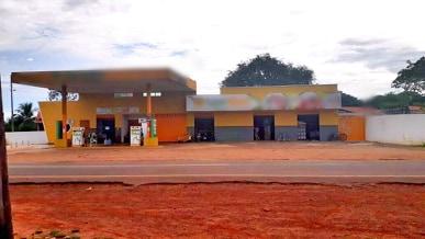 Posto de combustíveis é furtado nesta madrugada em Buriti dos Lopes
