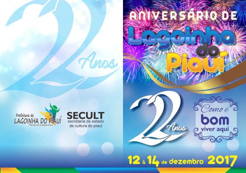 Prefeitura de Lagoinha divulga programação de aniversário