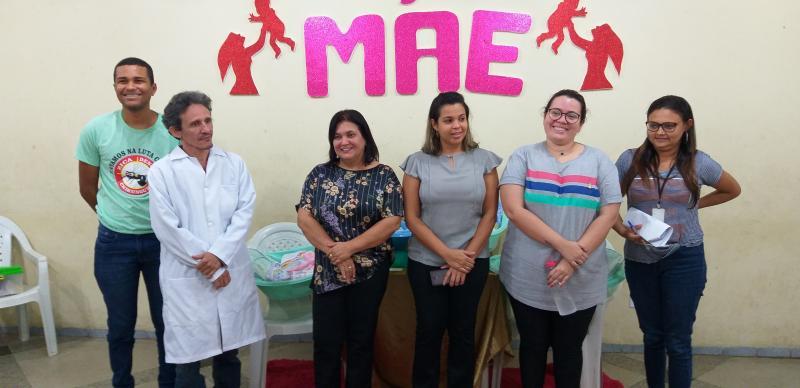 Prefeitura Municipal  de Lagoinha do Piauí realiza reunião com gestantes