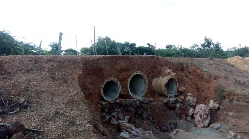 Estrada do Assentamento Lagoinha pode ficar interrompida a qualquer momento