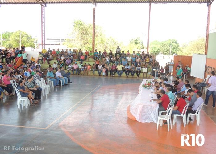 Conferência do Plano Municipal de Saneamento Básico é realizado em Campo Largo Piauí-PI