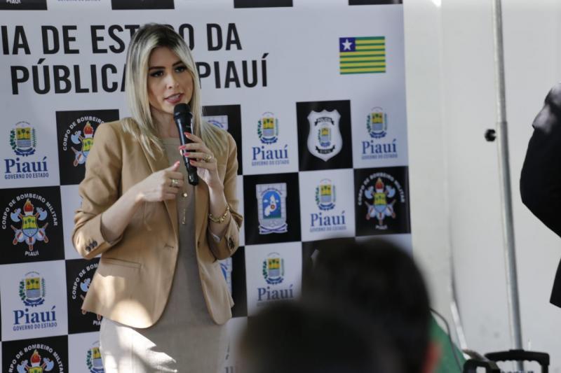 Delegada Anamelka assume diretoria de gestão interna da SSP