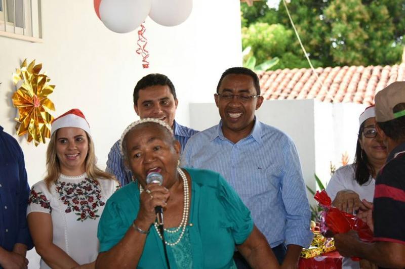Idosos participam da festa de encerramento das atividades de 2017