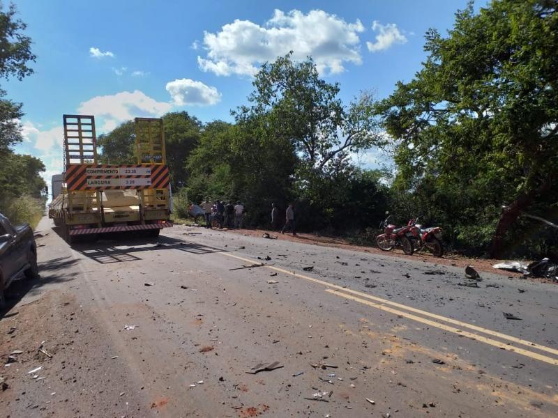 Empresário morre em acidente na BR-135 no sul do Piauí