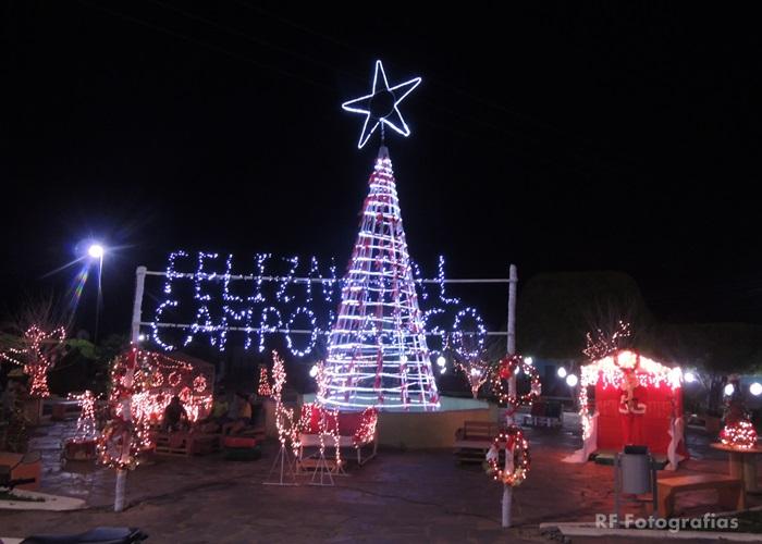 Campo Largo do Piauí, é destaque entre as cidades da região dos cocais em ornamentações natal