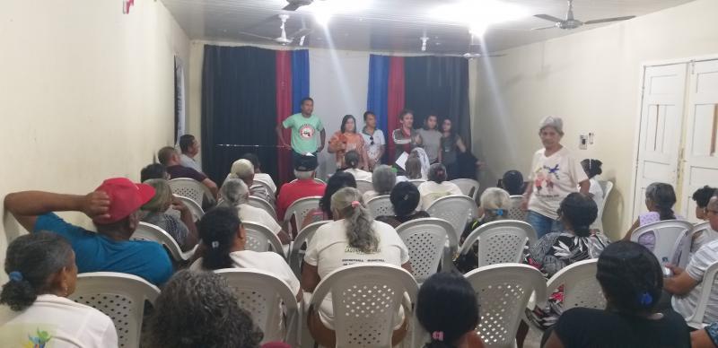 Prefeitura de Lagoinha do Piauí realiza encontro com grupo da terceira idad