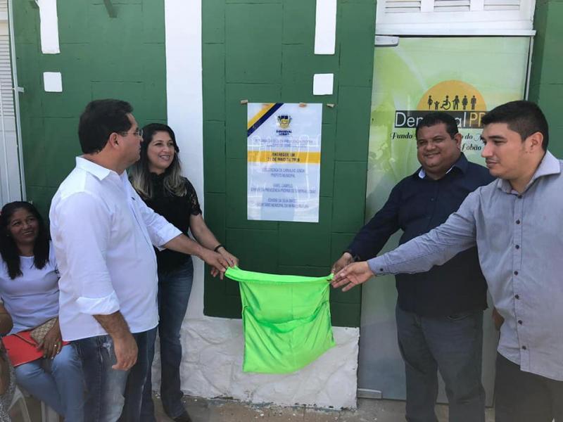 Reinauguração da sede do RPPS em Demerval Lobão