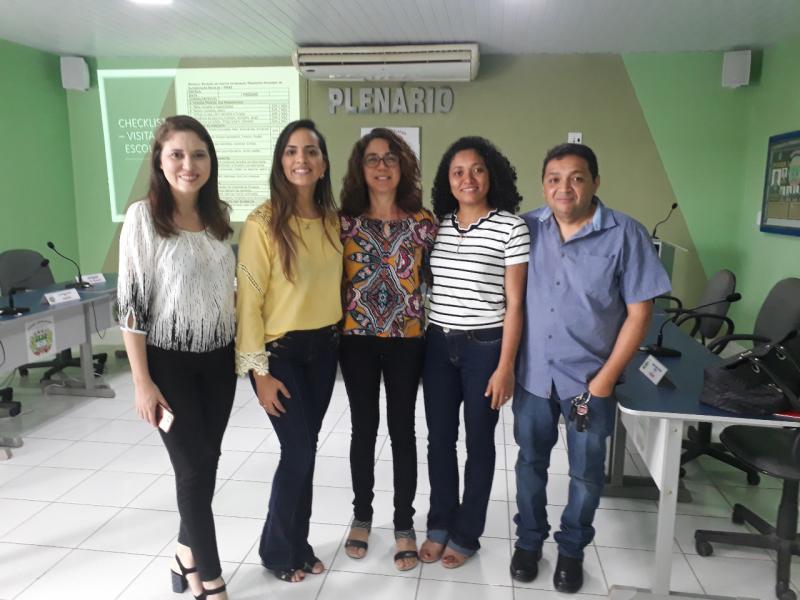 Nutricionista da educação de Lagoinha participa de capacitação do FNDS