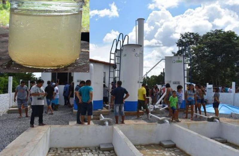 Finalmente foi inaugurado a primeira ETA no município de Buriti dos Lopes