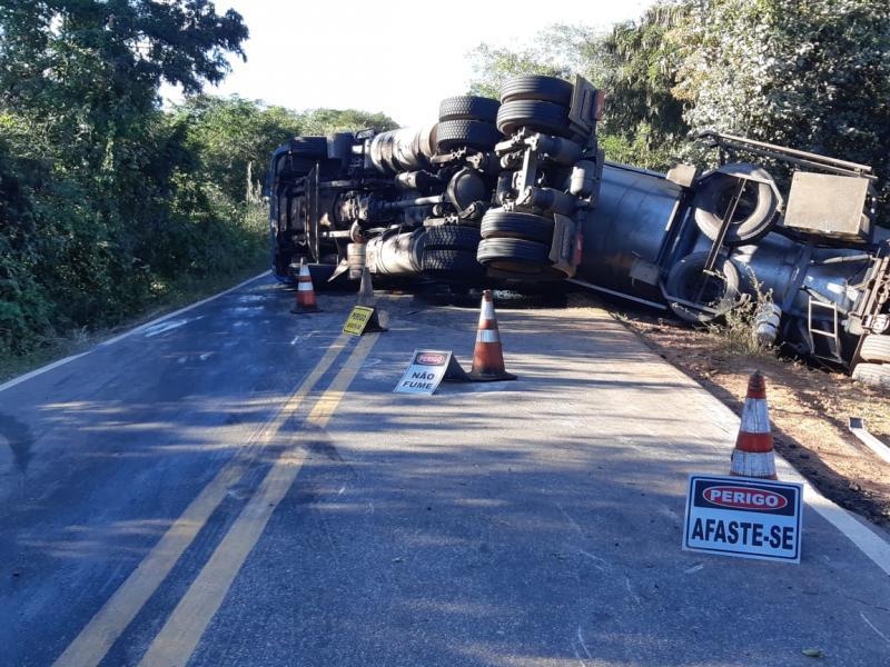 Rodovia da Morte é liberada após acidente no sul do Piauí