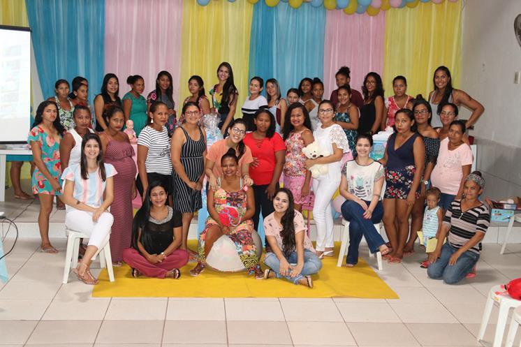 Mulheres grávidas recebem curso e são homenageadas em Miguel Alves