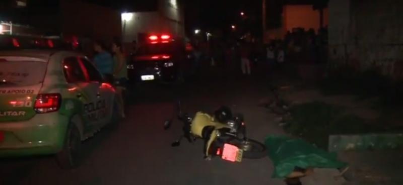 Mototaxista é assassinado a tiros na zona sul de Teresina
