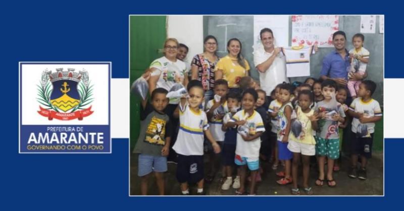 Prefeitura de Amarante realiza aentrega de Fardamento Escolar