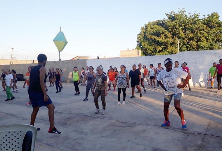 Timon: Projeto Beija-Flor oferece aulões de ginástica à população