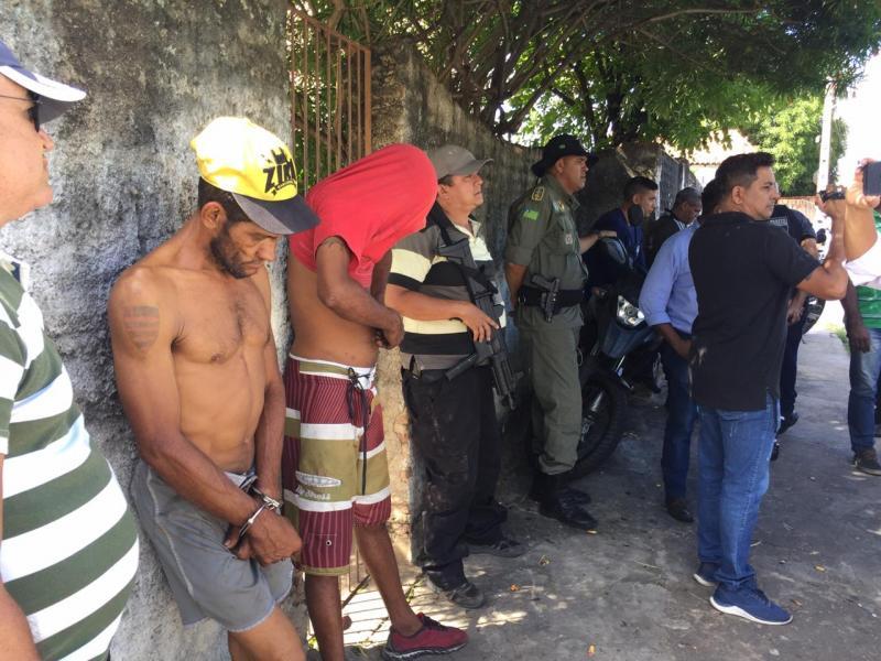 Acusados de roubar equipamentos de banda são presos